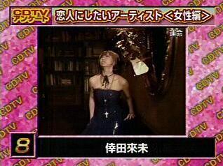 CDTV 恋人にしたいアーティスト〈女性編〉8位