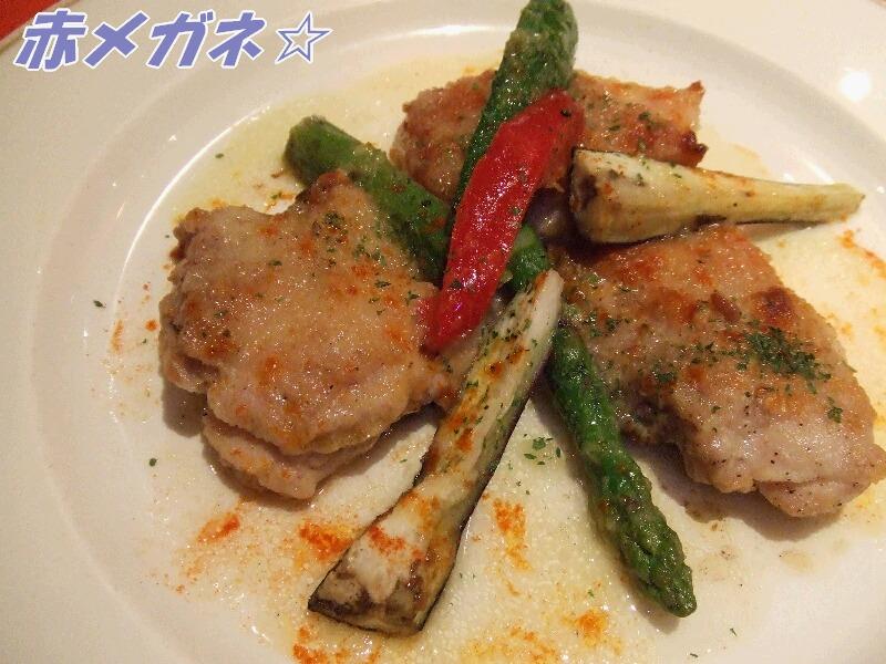 チキンの彩り野菜ソテー
