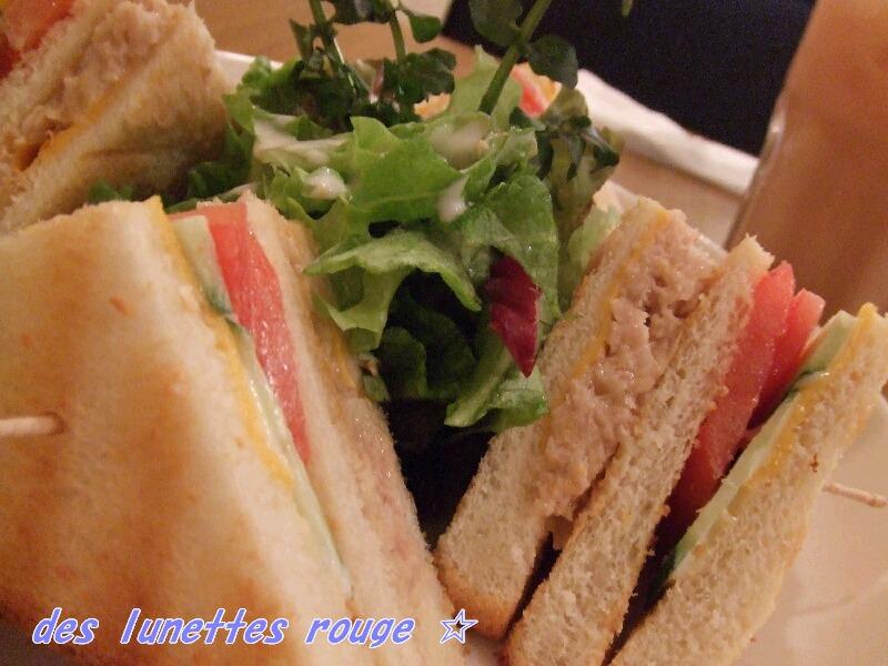 ツナ&チーズサンド