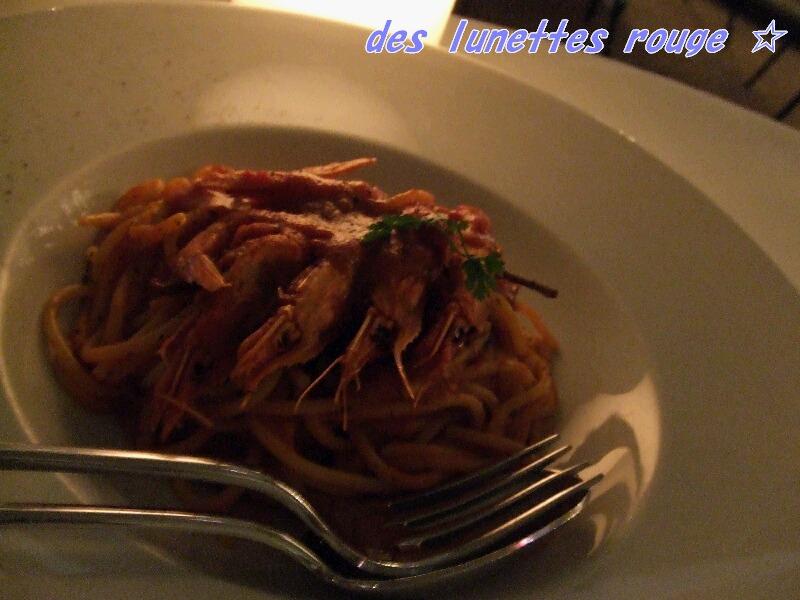 海老のトマトソース