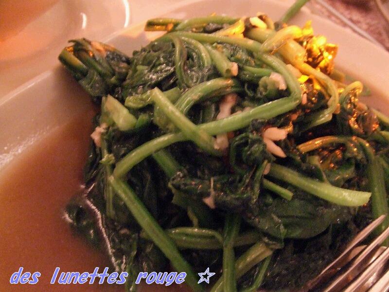 野菜の炒め物?