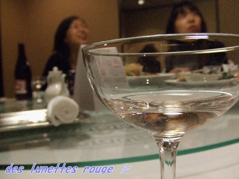 桜の香りのスパークリングワイン