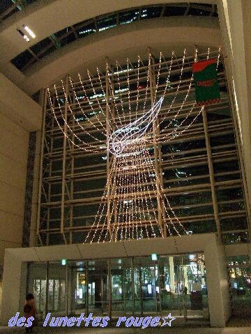 クリスマスディスプレイ:クイーンズスクエア