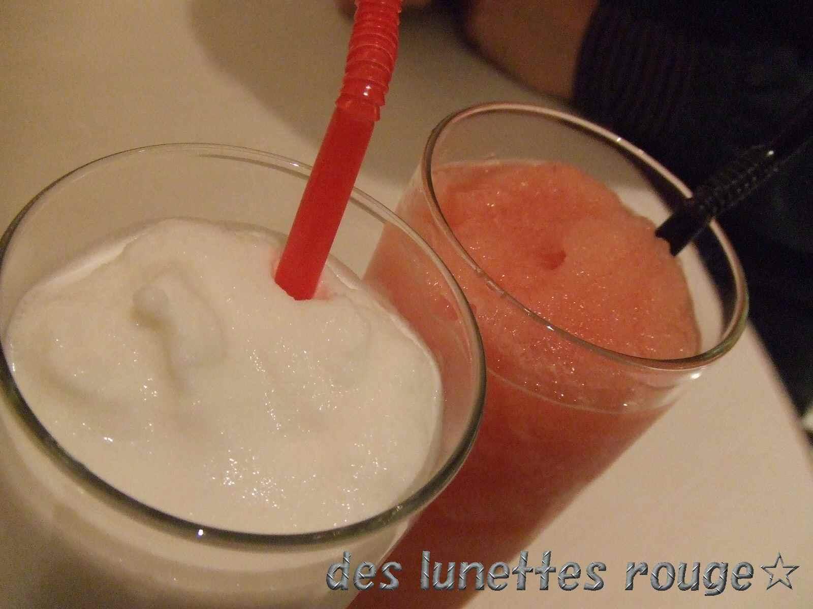 ココナッツ&すいか:マンゴツリーカフェ