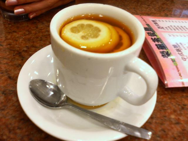レモンティー:翠華餐廳
