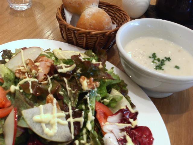 スープ&サラダ:アフタヌーンティー