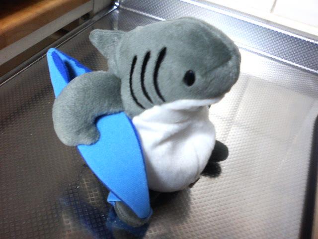 サメくん:グァム土産