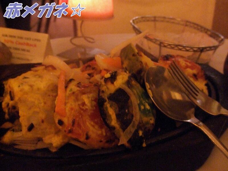 野菜&チーズ:印度今日
