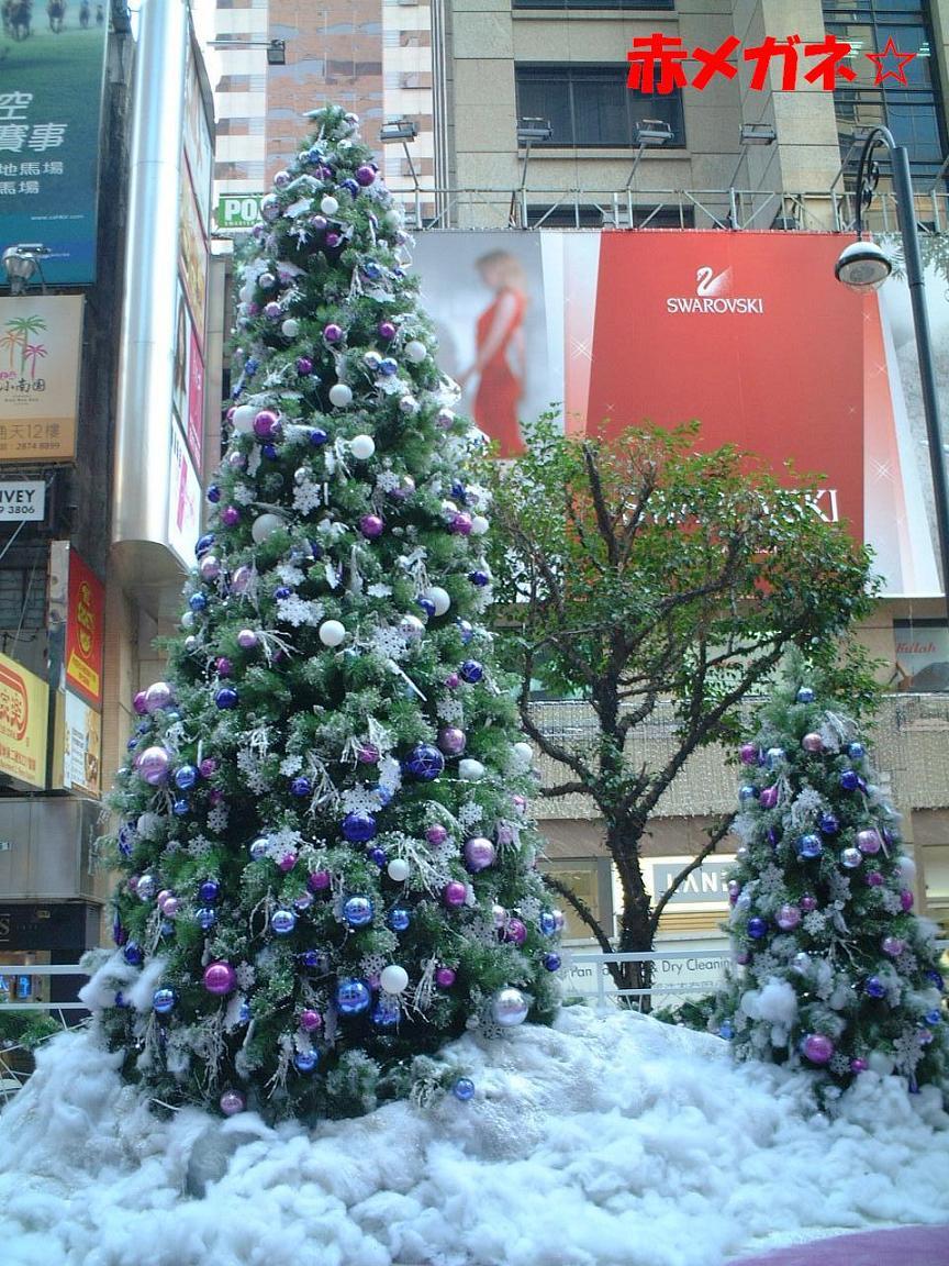 クリスマスツリー:タイムズスクエア前