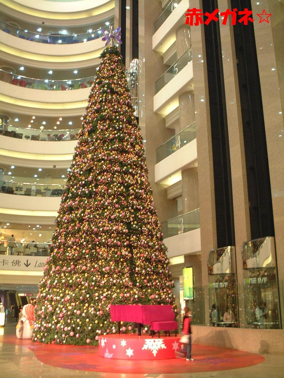 クリスマスツリー:タイムズスクエア