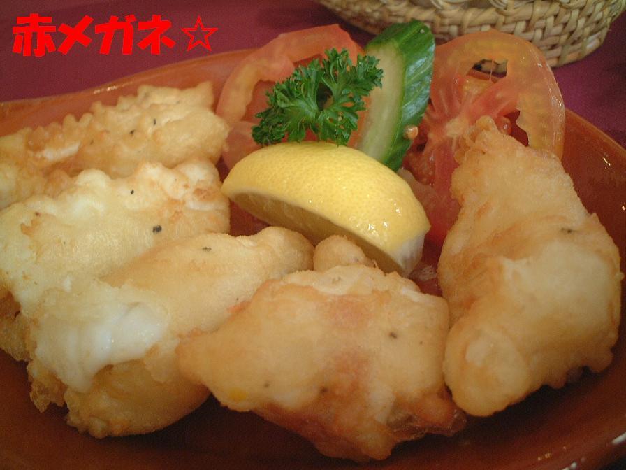 いかフリッター:スペイン料理