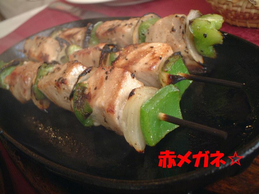串焼き(チキン):スペイン料理
