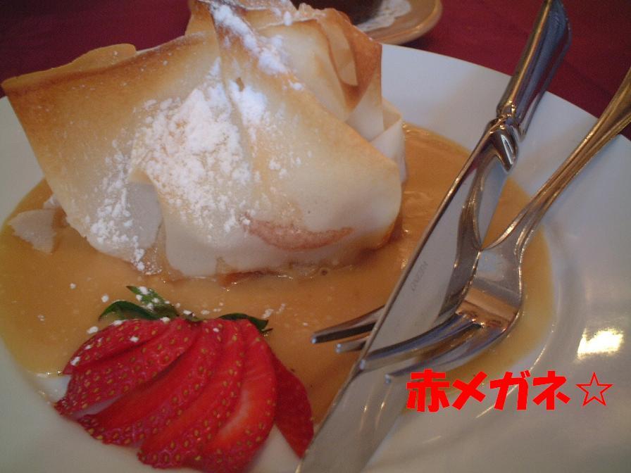 洋ナシのデザート:スペイン料理