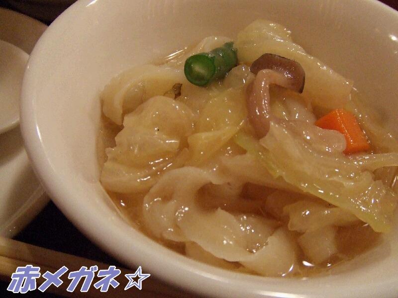 野菜の刀削麺