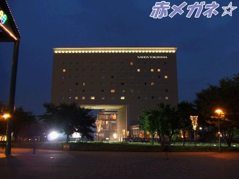 映画館横のホテル