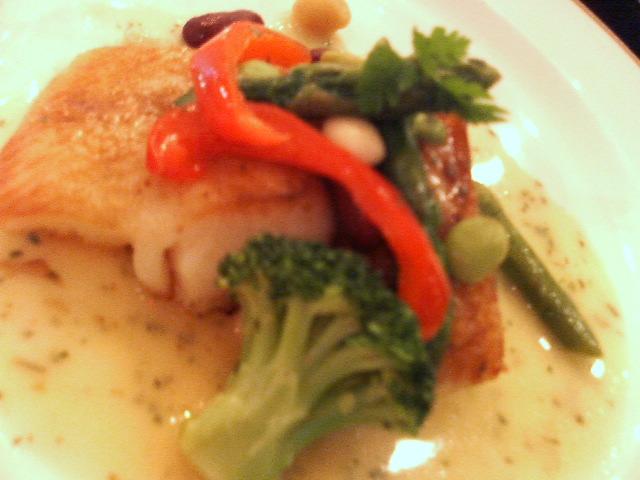 白身魚のなんちゃらソース:サンマルク
