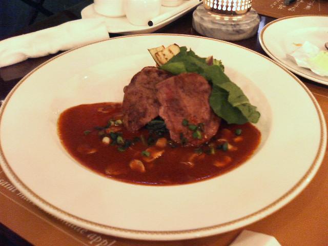 牛フィレ肉のステーキ:サンマルク