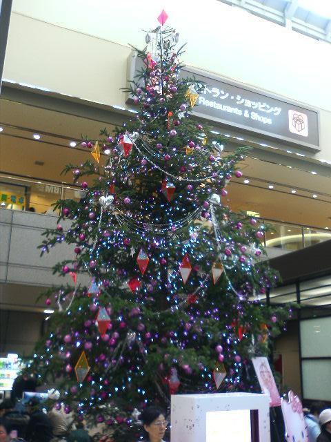 キティーのツリー:成田空港