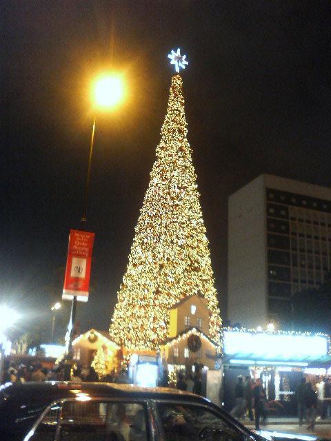 クリスマスツリー:スタチュースクエア