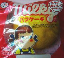 milky パフケーキ 105円