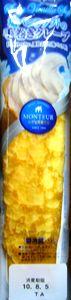 モンテール 塩バニラソフトの手巻きクレープ 105円