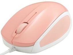 有線レーザー式マウス/ピンク BSMLU05SPK