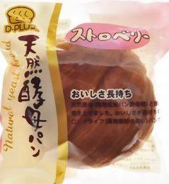 天然酵母パン  ストロベリー 80g*12個