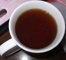 紅茶の柚子茶入り