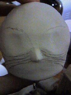 顔ガイド線