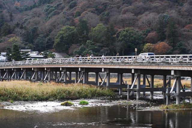渡月橋  京都っぽい写真これしかありませ~ん