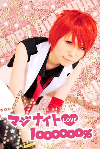 Happy birthday dear Naito★2011/10/18