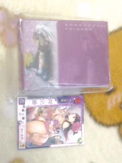 軍師・蔡文姫デッキケースGET!v(。・ω・。)v