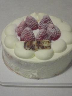 クリスマスケーキ2008!(゚Д゚)クワッ