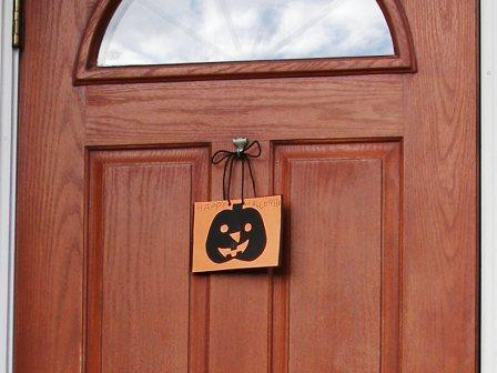 ハロウィン扉