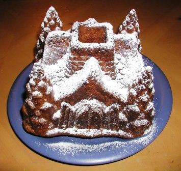 家型ケーキ