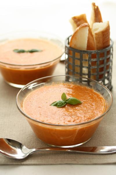 ガスパチョ風野菜スープ