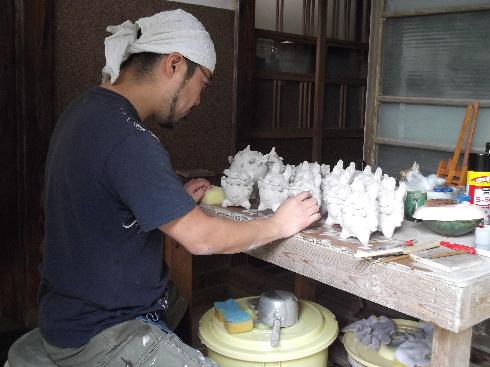 秋益子陶器市 001