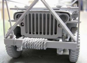 Jeep前面。バンパーまわり
