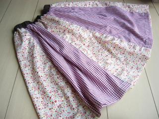 お姫様スカート