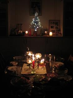 クリスマスキャンドルディナー