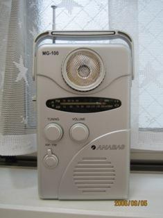 手回し充電ラジオ-1