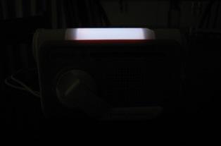 ソフトライトを点灯