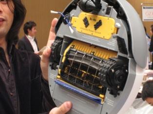 お掃除ロボット ルンバ・ディスカバリーの裏側写真