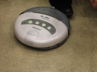 お掃除ロボット ルンバ・ディスカバリー あっ ぶつかった