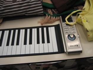 ローリングアップピアノの写真2