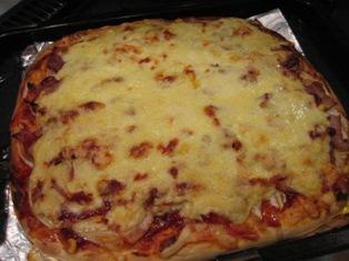 手作りピザの写真2