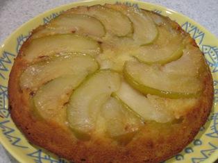 タタン風りんごケーキの写真