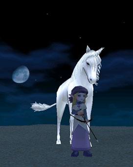 月とエルフとユニコーン