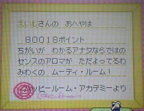 80018点!