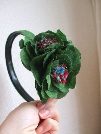 グリーン花カチュ2